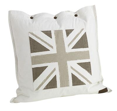 ARTWOOD CUSHION FLAG SQUARE - OFF-WHITE A7021