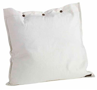 ARTWOOD TWILL SQ CUSHION OFF WHITE - A7019
