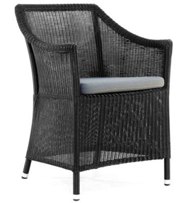 CHICORY OUTDOOR CHAIR - BLACK