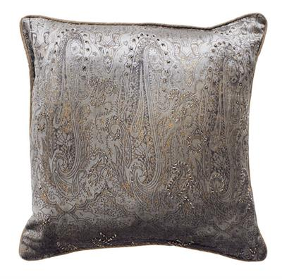 CARRERAS CUSHION - SAGE GRN/GOLD FOIL  450 X 450