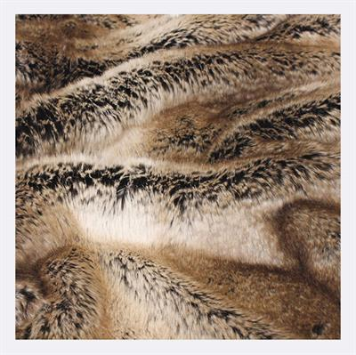 HEIRLOOM FAUX FUR THROW LARGE 2200 X 1500 SABLE