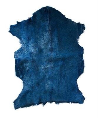 ADORE NAT GOAT FUR HIDE AIRFORCE BLUE