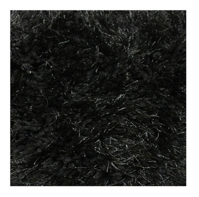 BOSTON 2300 X 1600 SHAG FLOOR RUG BLACK - R-7909