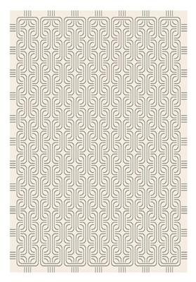 ATHENS PLUSH FLOOR RUG 2300 X 1600 LIGHT GREY