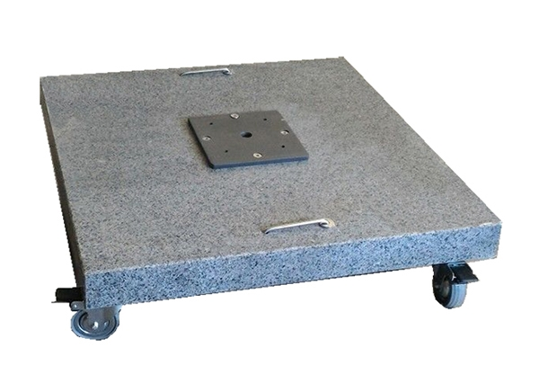 PANDANNUS GRANITE BASE WITH WHEELS 90KG