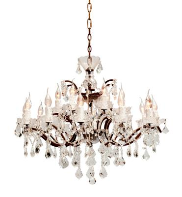 HALO CRYSTAL CHANDELIER MEDIUM - 880 X 880 X 530H - H4010