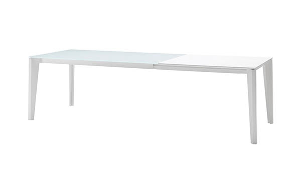 DIAMANTE DINING TABLE - 1200 EXT  ANTISCRATCH GRAPHITE