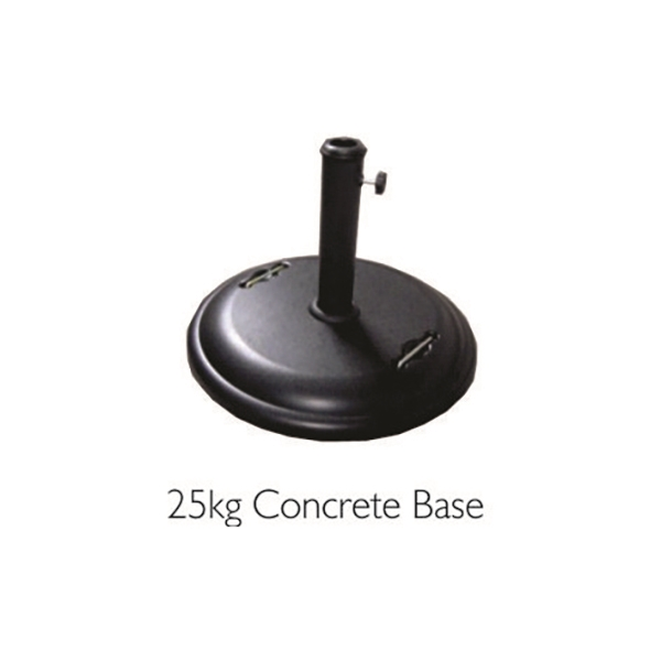 CONCRETE 25KG UMBRELLA BASE