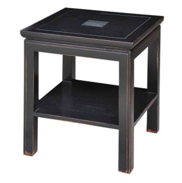 Sapporo Lamp Table with Shelf