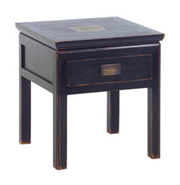 Sapporo Lamp Table with Drawer