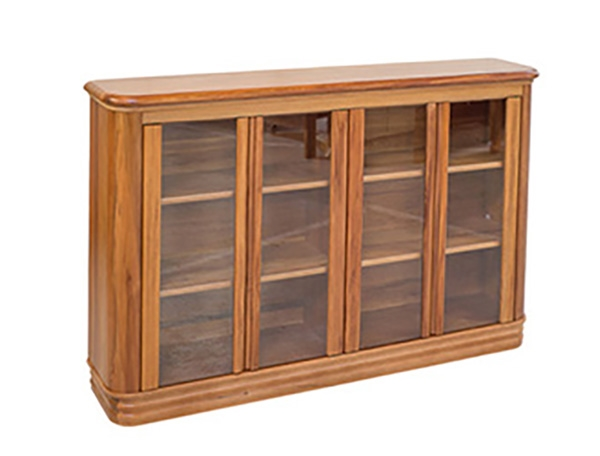 Riviera Bookcase with Glass Doors (Small)