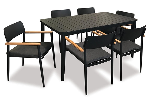 Piha Outdoor 7pce Dining Setting